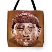 Helmet In Two Parts Iron Tote Bag