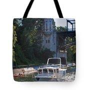 Helmsman 37 Yacht Tote Bag