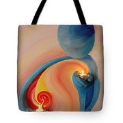 Helping Hands High Resolution 2 Tote Bag