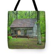 Helser Log House Tote Bag