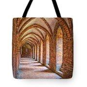 Helsingor Monastery Painting Tote Bag