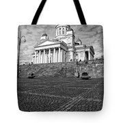 Helsinki Cathedral Tote Bag