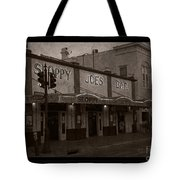 Hemingway Was Here Tote Bag by John Stephens