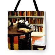 Hemingway's Studio Ernest Hemingway Key West Tote Bag