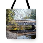Hemlock Covered Bridge Tote Bag