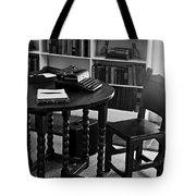 Hemmingway's Desk Tote Bag