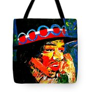 Hendrix Rocks Tote Bag