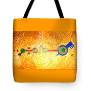 Henge-o-glyph From Wheat-shire Tote Bag