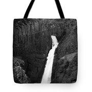Hengifoss Waterfall Tote Bag