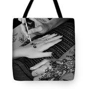 Henna Artist At Play Tote Bag