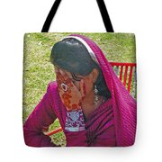 Henna Hands 2 Tote Bag