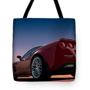 Hennessey Red Tote Bag