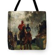 Henri De Toulouse Lautrec Tote Bag by The Jockeys