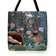 Henri Rousseau The Dream 1910 Tote Bag