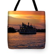 Henrietta II On The Cape Fear Tote Bag