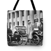 Henry And Edsel Ford Tote Bag