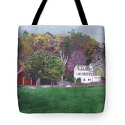 Henry Warren's Red Barn Tote Bag