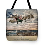 Henson's Aerial Steam Carriage 1843 Tote Bag