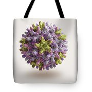 Hepatitis B Virus Tote Bag