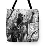 Her Cross Tote Bag