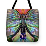 Her Heart Has Wings - Spiritual Art By Sharon Cummings Tote Bag