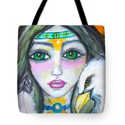 Her Journey Tote Bag
