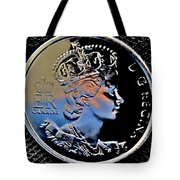 Her Majesty Elisabeth The Second  Coin Tote Bag
