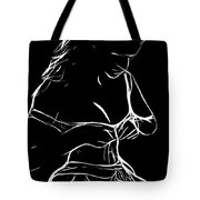 Her New Dress Tote Bag