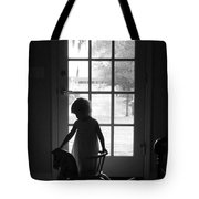 Her Rocking Horse Tote Bag