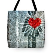 Her Strength Of Heart Tote Bag