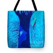 Her Tree Of Life  Tote Bag