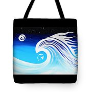 Her Wave Tote Bag