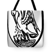 Heraldry Pelican Tote Bag