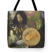 Heratige #1-young Traditional Dancer Tote Bag