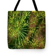 Herbal Abstract Tote Bag