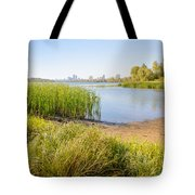 Herbs And Reeds Close To The River Tote Bag