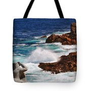 Hercules On The Argonauts Ship Tote Bag