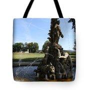 Hercules Sculpture Water Fountain  Tote Bag