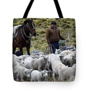 Herding Sheep Patagonia 3 Tote Bag