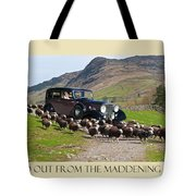 Get The Flock Out Tote Bag