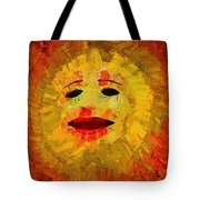 Here Come The Suns Triptych Tote Bag