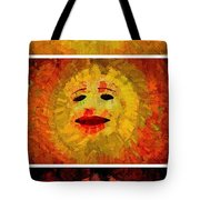 Here Come The Suns Vertical Tote Bag