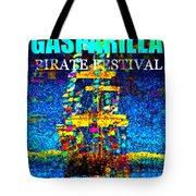 Here Comes Gasparilla Tote Bag