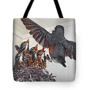 Here Comes Mom Tote Bag
