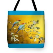 Here Comes The Sun - Rainbow Bee-eaters Tote Bag