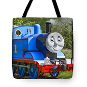 Here Comes Thomas The Train Tote Bag