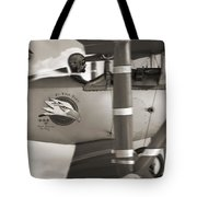 Here Comes Trouble 4 Tote Bag