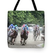 Here Is Mud In Your Eye Tote Bag