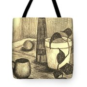 Here Is The Flashlight Tote Bag