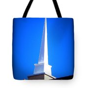 Here Is The Steeple Tote Bag